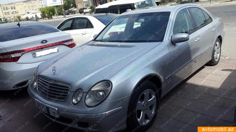 Mercedes benz e 240 second hand 2002 8600 gasoline for Second hand mercedes benz