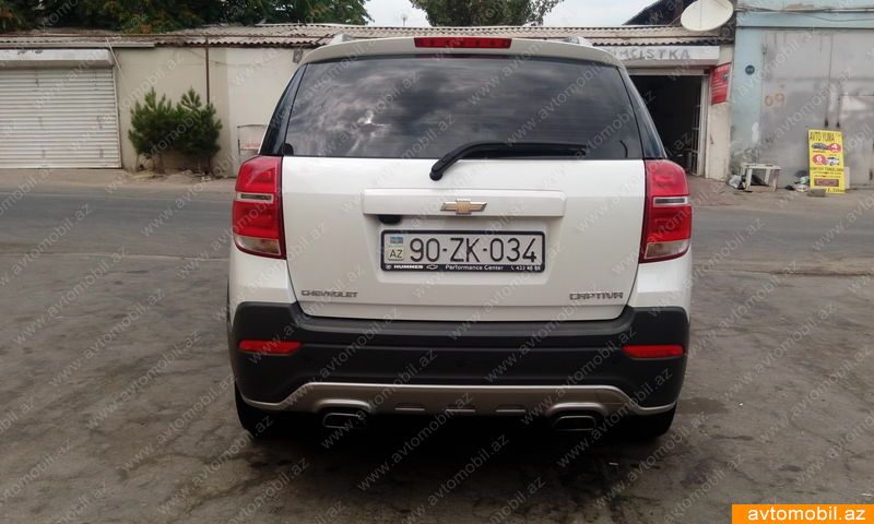 Chevrolet Captiva Urgent Sale Second Hand 2015 34000 Gasoline