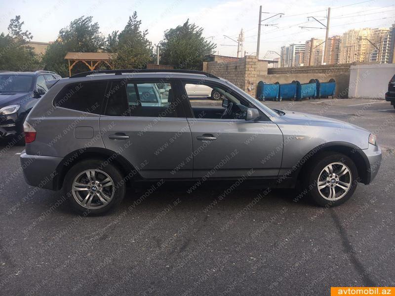 BMW X3 3.0(lt) 2006 Подержанный  $11800