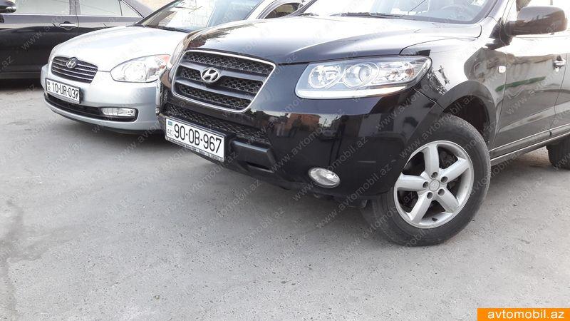 Hyundai Santa FE 2.2(lt) 2008 İkinci əl  $14000
