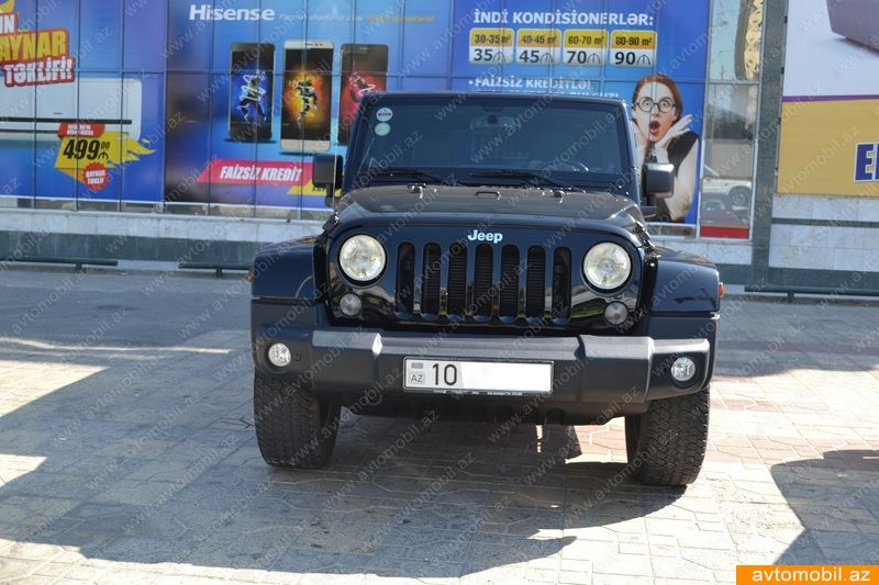 Jeep Wrangler 3.6(lt) 2013 İkinci əl  $32000