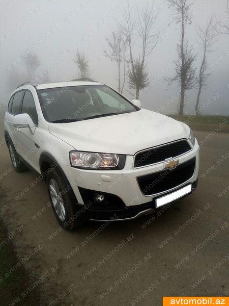 Chevrolet Captiva 2.4(lt) 2013 Second hand  $18600