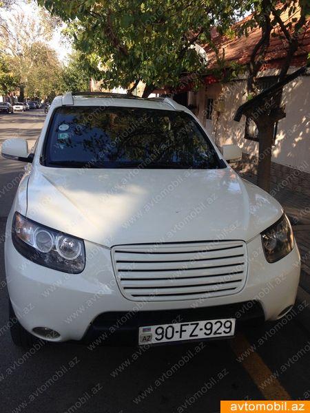 Hyundai Santa FE 2.7(lt) 2009 Подержанный  $12000