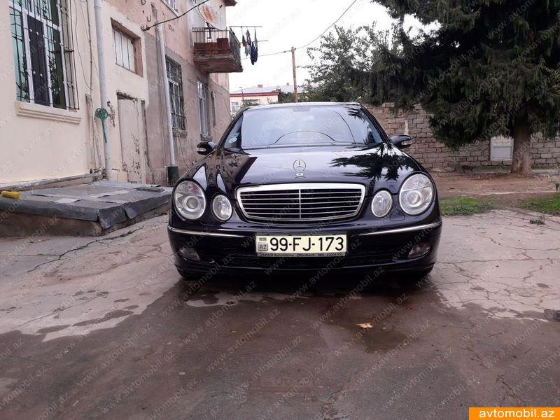 Mercedes benz e 200 avantgarde second hand 2003 15000 for Mercedes benz 15000