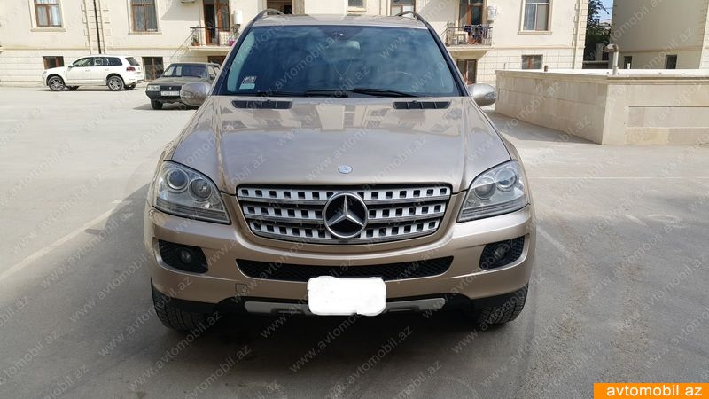 Mercedes-Benz ML 350 3.5(lt) 2006 İkinci əl  $13000