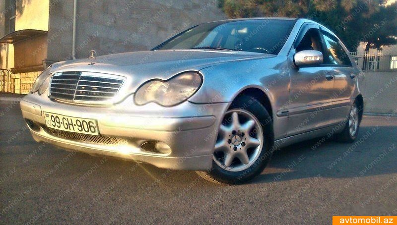 Mercedes benz c 220 second hand 2001 6310 diesel for Mercedes benz second