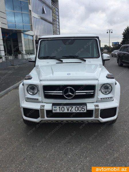 Mercedes-Benz G 63 AMG 5.5(lt) 2016 Second hand  $168000