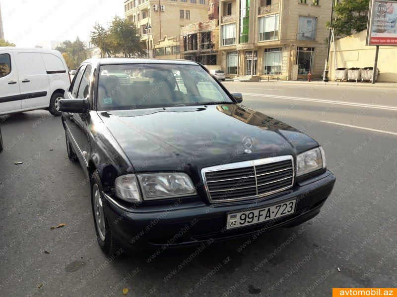Mercedes benz c 200 second hand 2000 7260 gasoline for Mercedes benz second hand cars