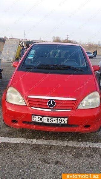 Mercedes-Benz A 160 1.6(lt) 1998 Second hand  $3070
