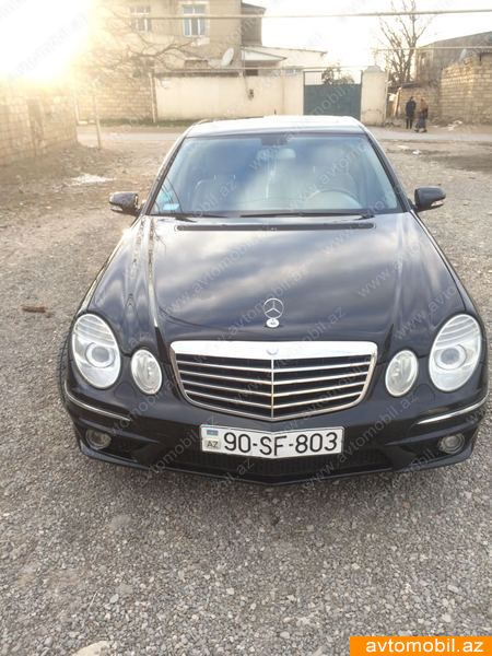 Mercedes benz e 350 avantgarde second hand 2008 15000 for Mercedes benz second hand cars