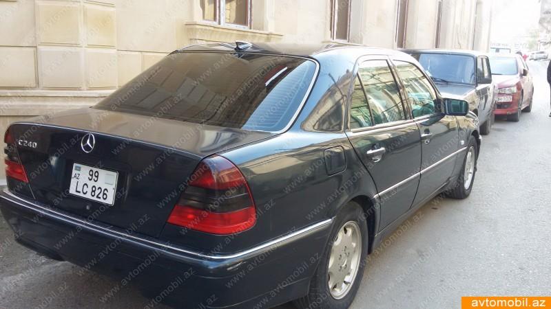 Mercedes benz c 240 second hand 1997 6500 gasoline for Mercedes benz 6500