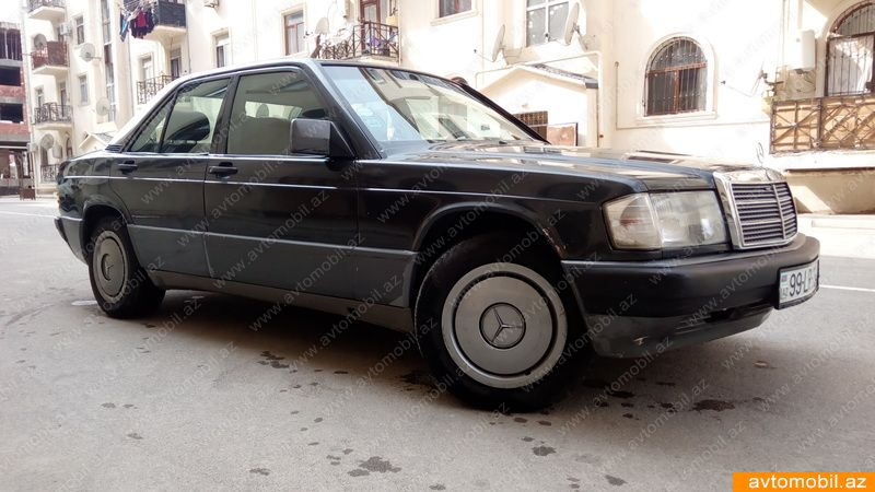 Mercedes benz 190 second hand 1990 4900 gasoline for Mercedes benz second hand cars
