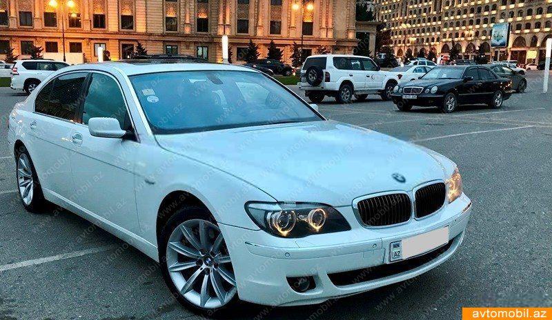 BMW 750 4.8(lt) 2008 Подержанный  $17500