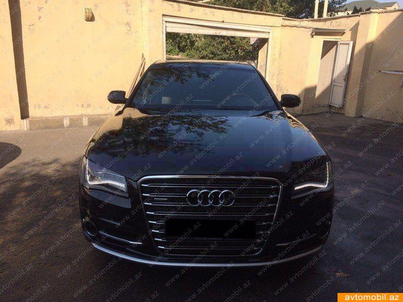 Audi A8 4.0(lt) 2012 Подержанный  $47500