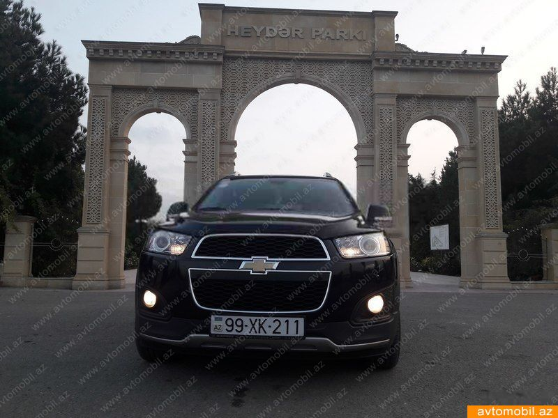 Chevrolet Captiva 2.4(lt) 2014 İkinci əl  $17230