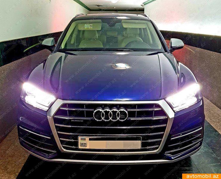 Audi Q5 2.0(lt) 2017 Подержанный  $51000