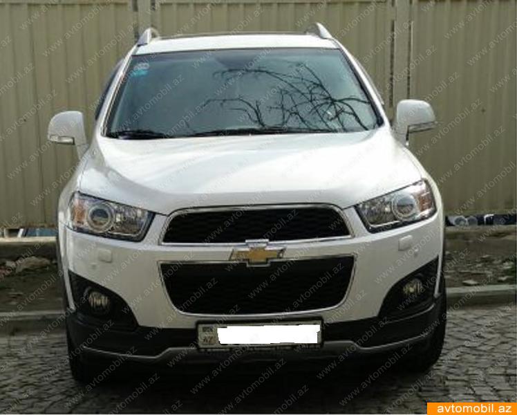 Chevrolet Captiva 2.4(lt) 2015 Second hand  $19700