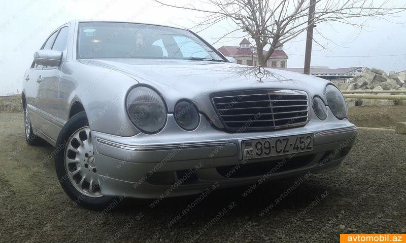 Mercedes-Benz E 280 2.8(lt) 2002 İkinci əl  $7400