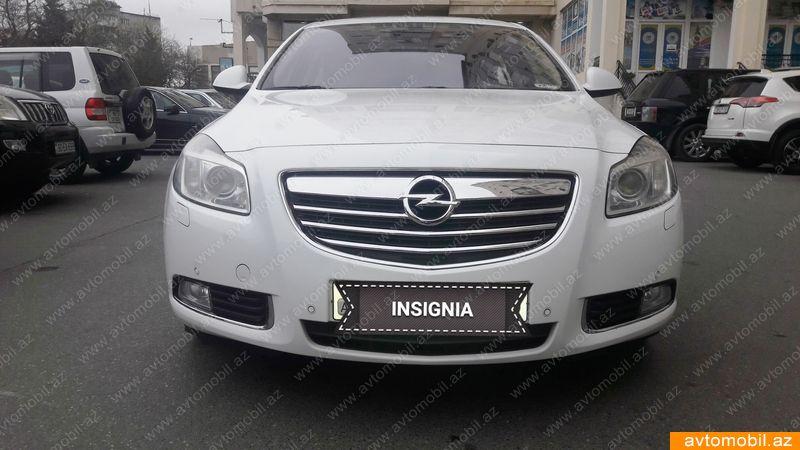 Opel Insignia 2.0(lt) 2013 İkinci əl  $18000