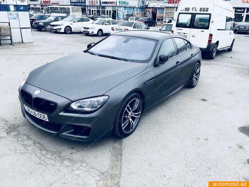 BMW 630 3.0(lt) 2012 Подержанный  $40000