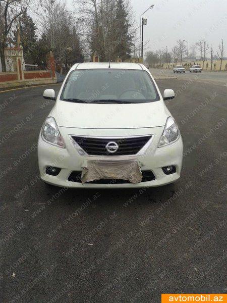Nissan Sunny 1.5(lt) 2013 Подержанный  $8670