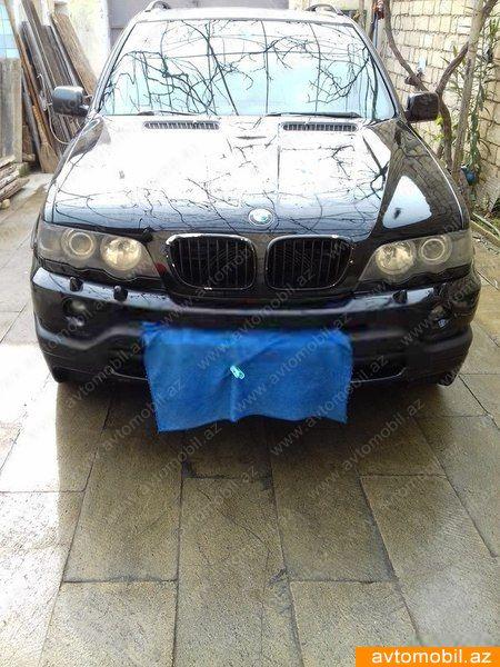 BMW X5 4.4(lt) 2001 Подержанный  $7790