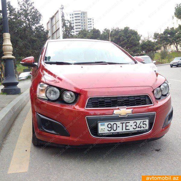 Chevrolet Aveo 1.4(lt) 2014 Second hand  $9560