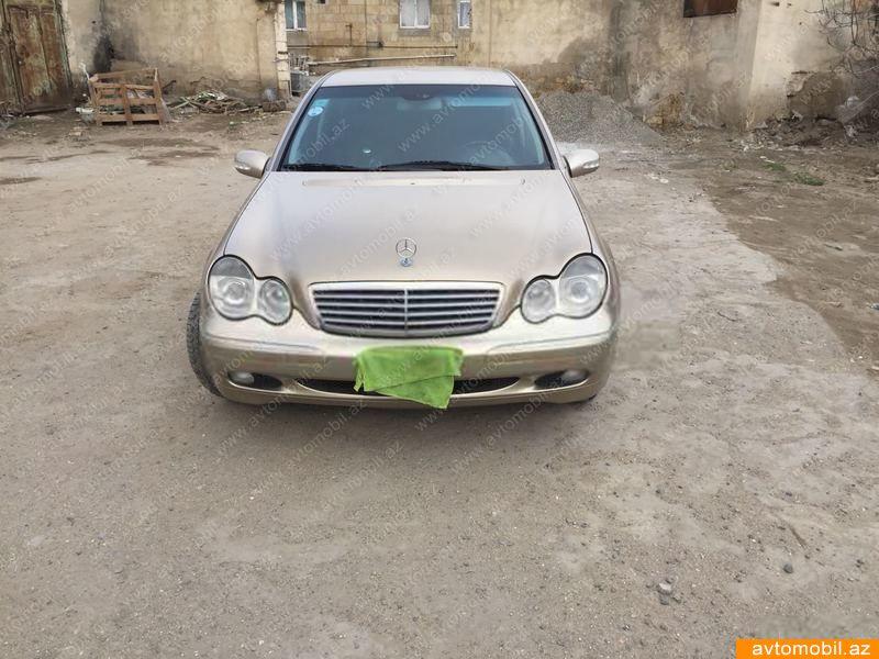 Mercedes-Benz C 240 2.6(lt) 2001 Подержанный  $5610