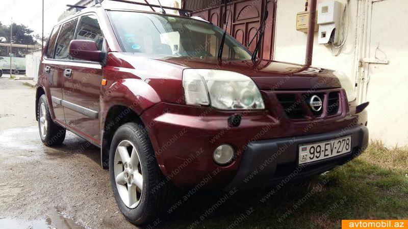 Nissan X-Trail 2.0(lt) 2002 Подержанный  $6140