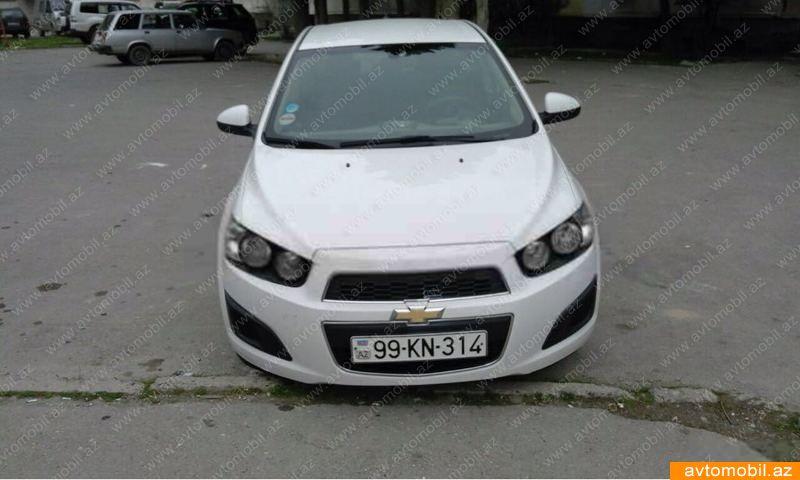 Chevrolet Aveo 1.4(lt) 2012 Подержанный  $6790
