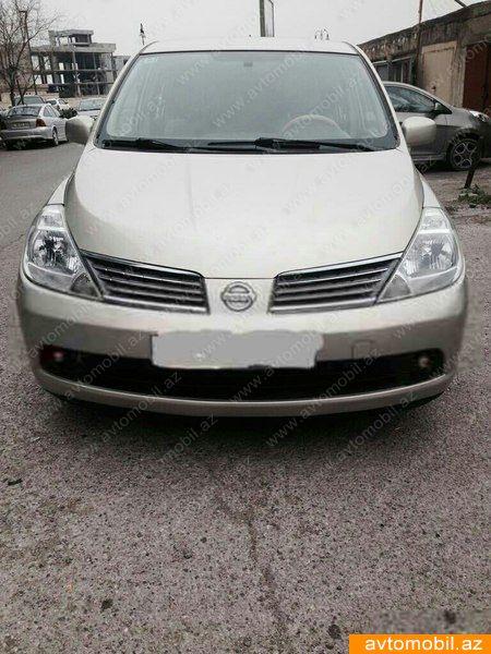 Nissan Tiida 1.6(lt) 2000 Подержанный  $7260