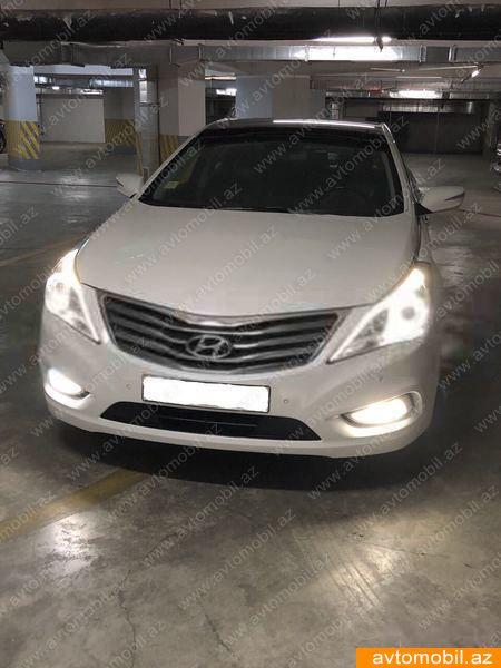 Hyundai Grandeur/Azera 3.0(lt) 2012 Подержанный  $19400