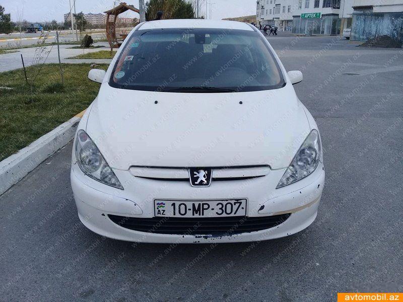 Peugeot 307 1.6(lt) 2002 İkinci əl  $3250