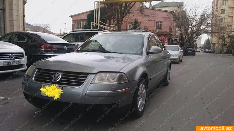 Volkswagen Passat 1.8(lt) 2004 Подержанный  $4010