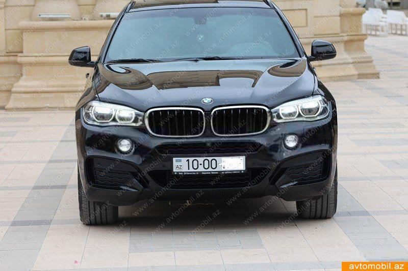 BMW X6 3.0(lt) 2015 Подержанный  $80000