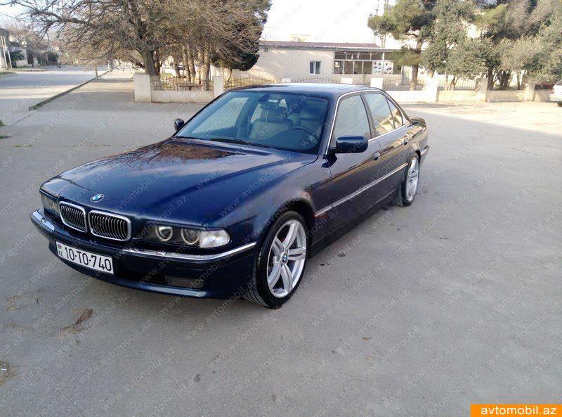 BMW 740 4.4(lt) 1998 Подержанный  $5610
