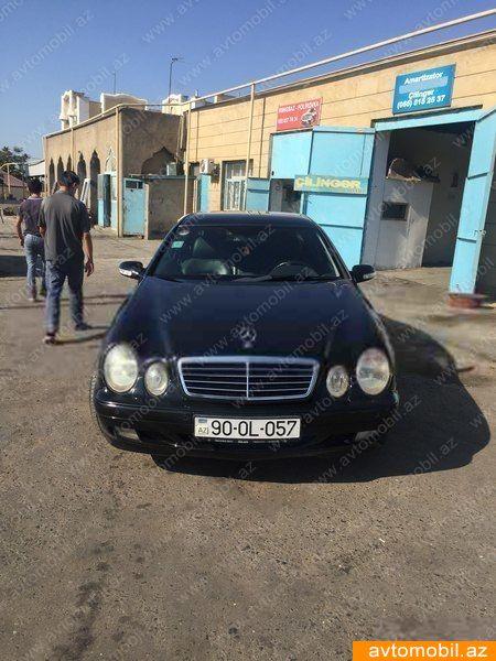 Mercedes-Benz CLK 200 2.0(lt) 2000 Подержанный  $6430
