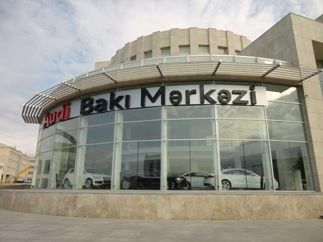 Audi-ni Azərbaycanda yeni şirkət təmsil edir