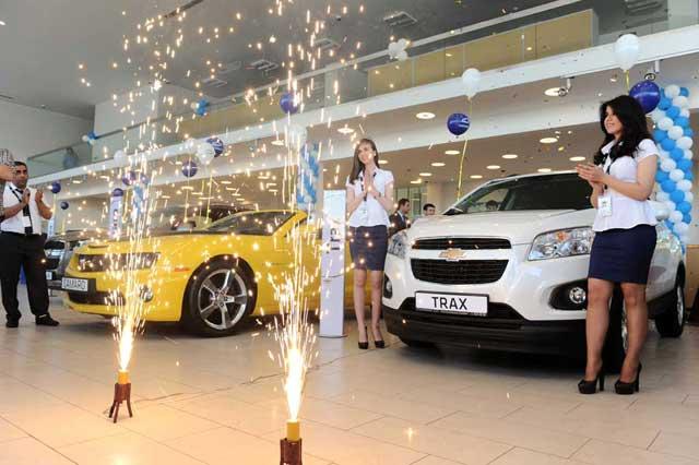 Cevrolet BABƏK salonunda Chevroletin 3 yeni modeli təqdim olundu