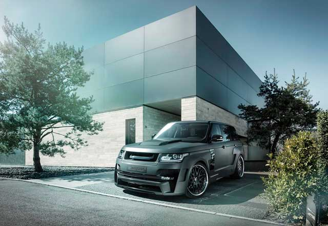 HAMANN MYSTERE - Deluxe SUV with widebody upgrade.