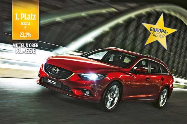Mazda 6 стал автомобилем с самым лучшим дизайном