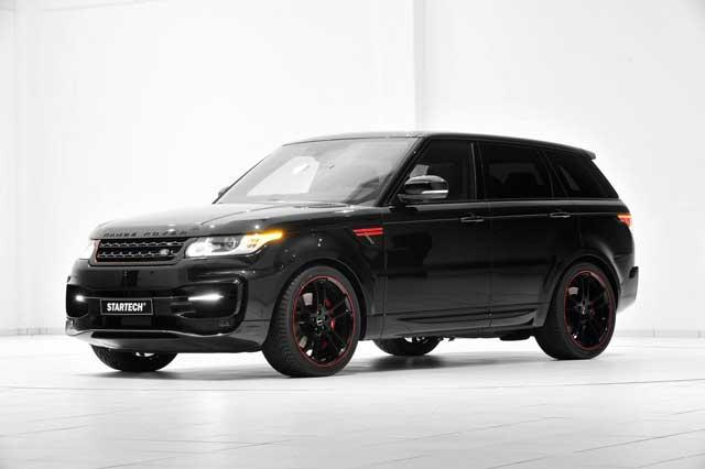 New upgrades of Range Rover Sport