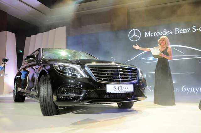 В Баку состоялась официальная презентация нового Mercedes-Benz S-Class