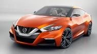 Спортивный концепт от Nissan превратили на новую Nissan Maxima 2015