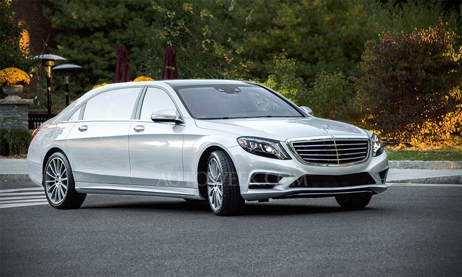 Ən təmtəraqlı Mercedes-Benz S 600 Maybach 2014 Çində debüt edəcək