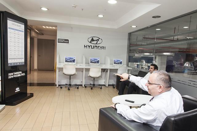 Первый в мире инновационный автоматизированный сервис от Hyundai