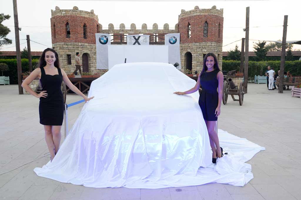 Презентация Нового БМВ X4 в Азербайджане