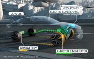 Kia Parisdə Kia Optima T-Hybrid dizel-elektrik şoukarını nümayiş etdirdi