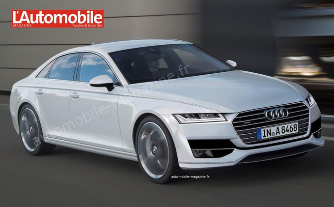 Новая Audi A8 подстроится под кожу водителя