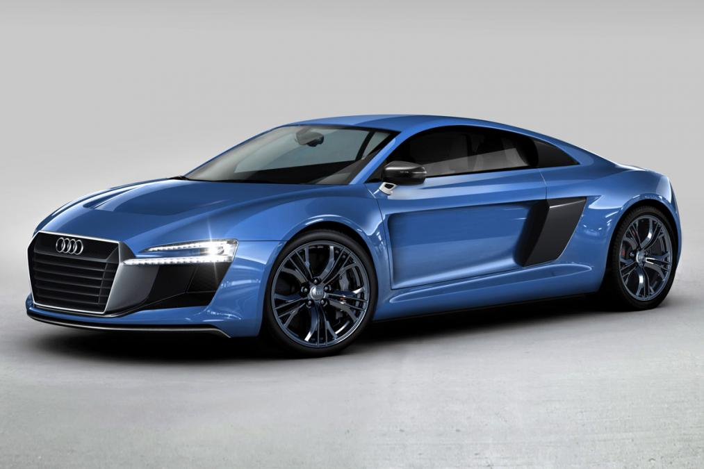 Новая Audi R8 - уже весной